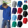 Russell Men's Classic Sweatshirt Pullover R-762M-0 - Long Sleeves Jumper Top