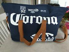 New listing Corona Beer Travel Tote Bag Cooler Bag Zip Closure 24 x 355ml Sleek Cans