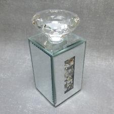 Formano Teelichthalter Spiegel Stones 13 cm edel modern Kristall Brilliant