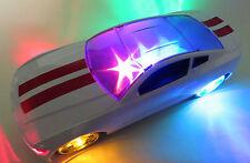 tolles Rennauto Disco - Auto mit Licht und Sound, 3D-Lightshow + Musik, groß