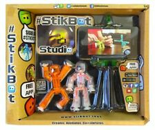 Stikbot Studio - Children's Stickbots Stop Motion Animation App Movie Making Toy