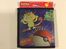 Pokemon Tri-Fold CD Wallet (HOLD 12 CDs) (USED) **HOT**