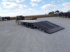 New Listing2021 Load Trail 102X32' Gooseneck w/ Hydro Dove+Jacks