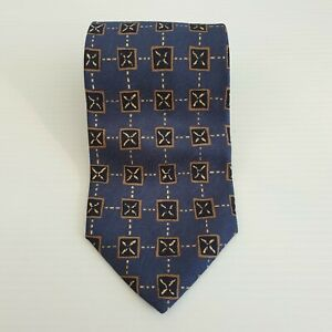 Country Road Italy Australia Mens 100% Silk Neck Tie Connected 58L 3.75W TI71