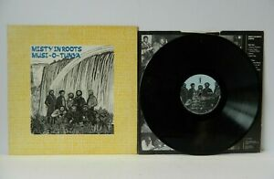 Misty in Roots Musi-o-Tunya 1985 Reggae LP People Unite PU105 EX/EX