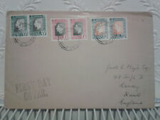 1937 Pretoria South Africa First Day Cover FDC Coronation King George 6 KGVI