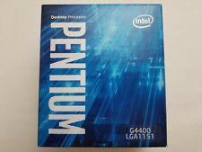 Intel Pentium G4400 3.30GHz Dual-Core LGA 1151 Processor Stock Cooler Open Box