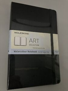 Moleskine Watercolour Notebook Sketch Book Art Collection 13x21cm Rrp:£18.99