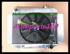 For Holden Radiator&Fan HD HG HQ HJ HK HT LH LX 161 186 202 3 Row AT MT