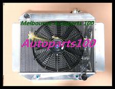 For TORANA Radiator + one fan LJ LH LX UC 4CYL&6CYL 1969-1978 Aluminum AT MT