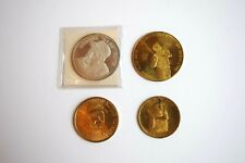 BABE RUTH Lot of 4 Coins w/ Greatest Player of all Time, Home Run King