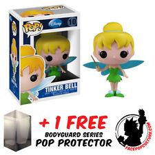 FUNKO POP DISNEY PETER PAN TINKERBELL VINYL FIGURE + FREE POP PROTECTOR