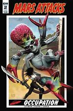 MARS ATTACKS OCCUPATION #2 Subscription Variant IDW NM Comic - Vault 35