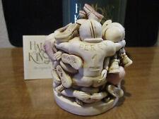 Harmony Kingdom Hold That Line Football Game Uk Made Marble Resin Box Figurine