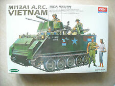 ACADEMY -1/35- #1389- M113A1 A.P.C. U.S. ARMT VIETNAM