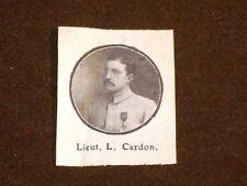 Lieut. L. Cardon