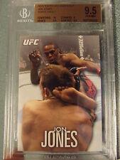 2012 Topps UFC Knockout Jon Jones Topps Vault 1/1 Blank Back BGS 9.5 Gem Mint