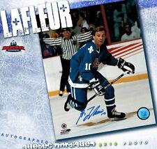 GUY LAFLEUR SIGNED Quebec Nordiques 8X10 Photo -70224