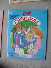 1985 Paper Dolls Book The Heart Family Golden Books
