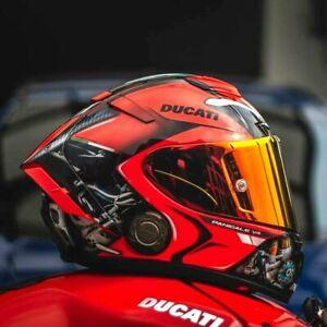 X14 X Spirit 3 Motorcycle Full Face Helmet Ducatii V4 Red Marc Marquez 93 Helmet