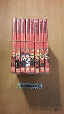LOT DVD TRIGUN NO. DE 1 A 8 / MANGA / BOX 8 DVD