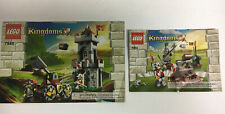 INSTRUCTIONS ONLY LEGO OUTPOST ATTACK 7948 & 7950 books manual from set Kingdoms