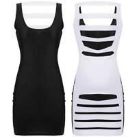 CHEAP!! Sexy Women Summer Hollow Bodycon Short Mini Dresses Clubwear Party Dress