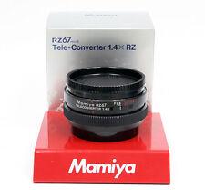 Mamiya RZ 67 Telekonverter 1,4 x /// converter 1.4 for RZ ProII ProIID Neu / NEW