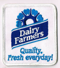 Dairy Farmers, Quality, Fresh Everyday - Souvenir Woven Cloth Patch / Badge