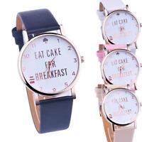 Casual Watch Alphabet Pattern Ladies Watches Analog Quartz Vogue Wrist Watches