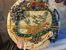 High end costume jewelry lot of 10 beautiful vintage necklaces epic and cool #2