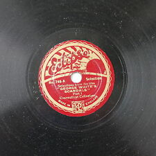 """78rpm 8"""" THE CONNECTICUT COLLEGIANS george white`s scandals , selection"""