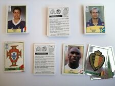 Panini Fussball UEFA Euro 2000 Sticker aussuchen select schwarz black back EM 00