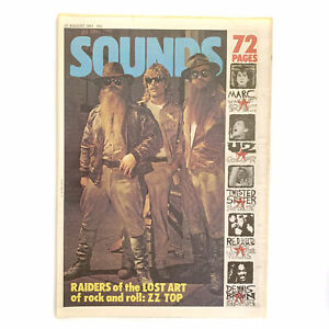 Sounds 20 August 1983 - ZZ Top,Marc Almond,Twisted Sister,U2,Red Guitars