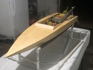 gas powered rc boat