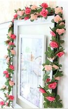 4 Artificial Small Flowers Vine Garland For Wedding Decor