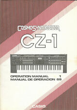 Casio CZ-1 Operation Manual (Cosmosynthesizer)