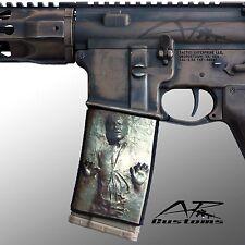 AR Soc Jabbas Trophy Mag Soc Mag Wraps / fits :Steel/ Alum USGI Magazines AR15