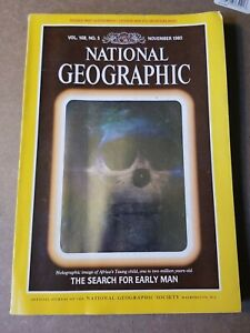 National Geographic Magazine - November 1985 - WITH Canada Double Map Supplement