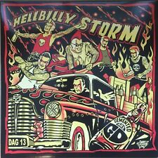 DEMENTED ARE GO - Hellbilly Storm SPLATTER VINYL LP (NEW) PSYCHOBILLY Reissue