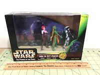 Star Wars 1998 POTF Jabba The Hutt's Dancers Movie Scene! sealed, #69849