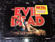 Rare Evil Dead Lunchbox and Thermos Limited Edition #2904/5000 Brand New