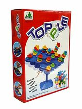 Party Family Board Game TOPPLE Balance Made a Row & Stack High (For 2~4 Player)