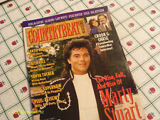 Marty Stuart Covers Country Beat Magazine August 1994 Reba McEntire Faith Hill