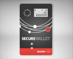 Ecomi Hardware Secure WalletThe Secure Wallet is the ultimate in cold storage.
