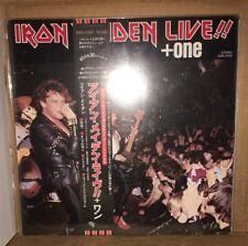 IRON MAIDEN - Live!!+ONE W/Obi