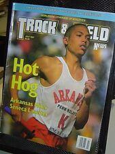 TRACK & FIELD NEWS MAGAZINE Jul 1997 SENECA LASSITER Fatuma Roba Boston Marathon
