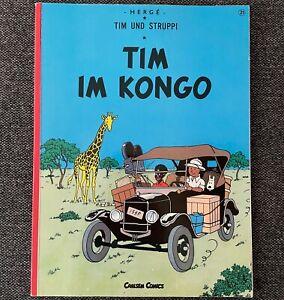 Tintin - Tim Im Kongo / German language Tintin In Congo