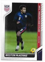 2021 Panini Instant Weston McKennie US Soccer Collection Limited Print Card