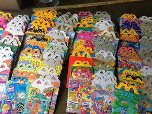 McDonalds Happy Meal Box Lot Assortment  100+ Various